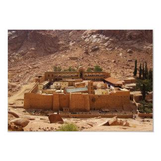 Ancient Saint Catherine's Monastery Sinai Egypt 3.5x5 Paper Invitation Card