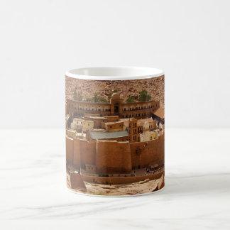 Ancient Saint Catherine's Monastery Sinai Egypt Classic White Coffee Mug