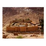 Ancient Saint Catherine's Monastery Sinai Egypt Postcard