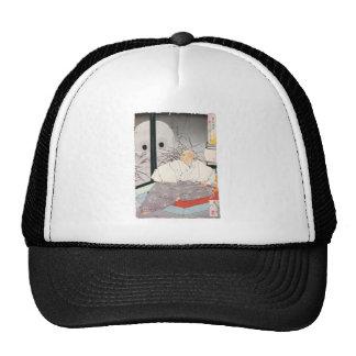 Ancient Samurai Painting Mesh Hats