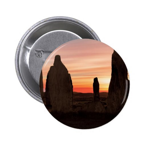 Ancient Scottish Stones Pinback Buttons