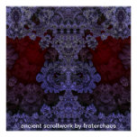 ancient scrollwork by fraterchaos print