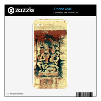 Ancient Shiva and Parvati Skin For The iPhone 4S