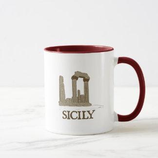 Ancient Sicily Agrigento Ruins Coffee Mug