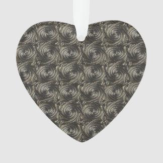 Ancient Silver Celtic Spiral Knots Pattern Ornament