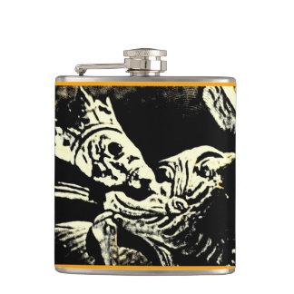Ancient Skeleton King Flask