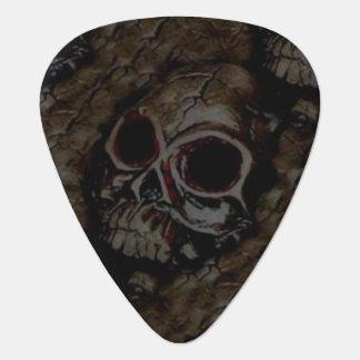 Ancient Skull Guitar Pick