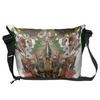 Ancient skull messengerbag messenger bag