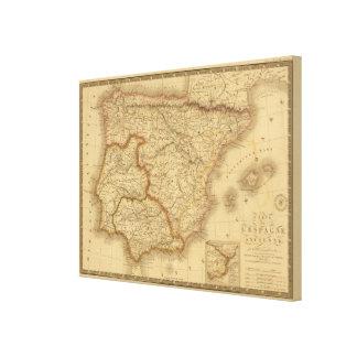 Ancient Spain Canvas Print