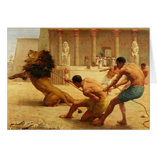 Ancient Sport by Kilburne Stationery Note Card