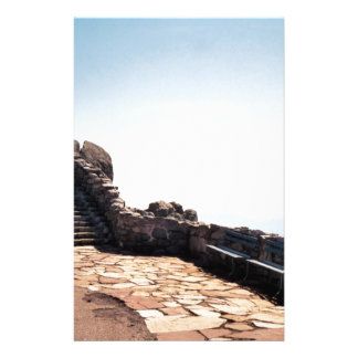 Ancient Stair Case Custom Stationery