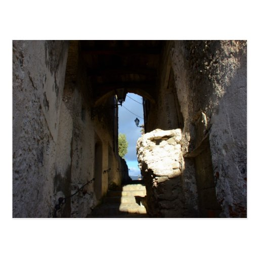 Ancient Staircase Postcard