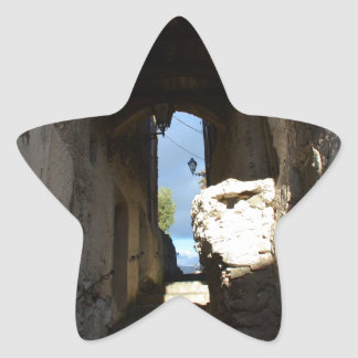 Ancient Staircase Star Sticker