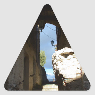 Ancient Staircase Triangle Sticker