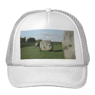 Ancient Stone Circle. Avebury, Wiltshire, England. Hats