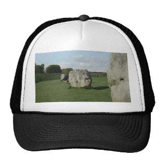 Ancient Stone Circle. Avebury, Wiltshire, England. Trucker Hats