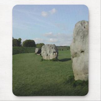 Ancient Stone Circle. Avebury, Wiltshire, England. Mouse Pad