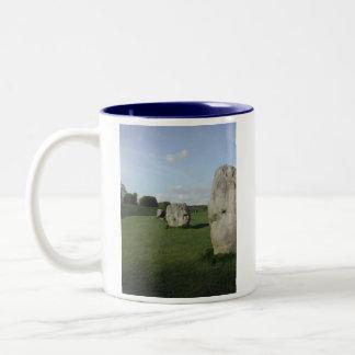 Ancient Stone Circle. Avebury, Wiltshire, England. Two-Tone Coffee Mug