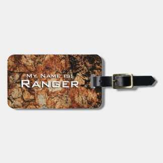 Ancient Stone (For Pet Carriers) Luggage Tag