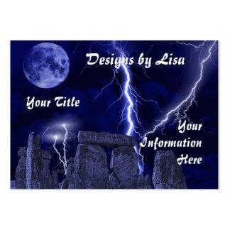 Ancient stone landscape profile/business card