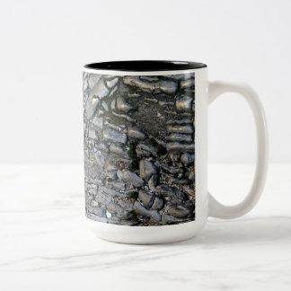 Ancient Stone Two-Tone Coffee Mug