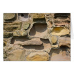 Ancient Stone Wall Card