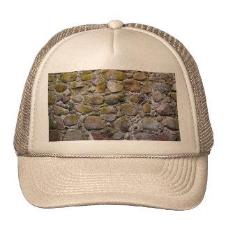 Ancient stone wall trucker hat