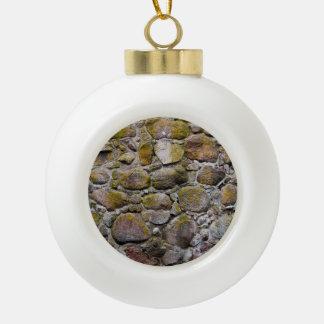 Ancient stone wall ornaments