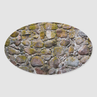 Ancient stone wall sticker