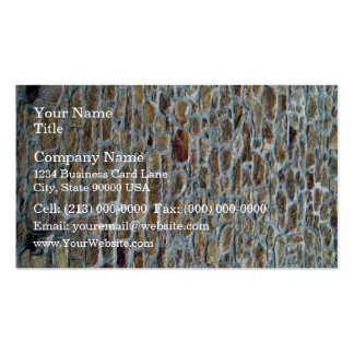 Ancient Stone Wall Texture Business Cards