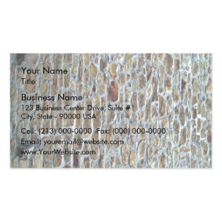 Ancient Stone Wall Texture Business Card Template