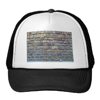 Ancient Stone Wall Texture Hat
