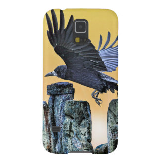 Ancient Stonehenge & Rook Corvid-lover's Gift Galaxy S5 Case