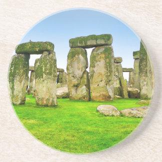 Ancient Stonehenge Standing Stones in Summer Art Coaster