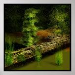 ancient swamp print