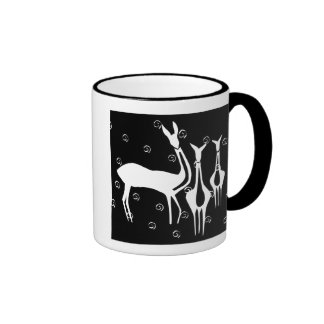 ancient symbols ringer coffee mug