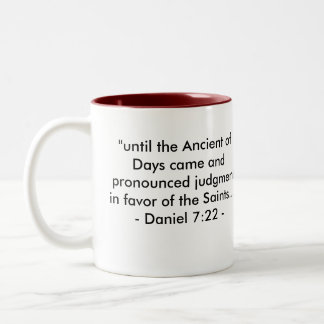 ANCIENT SYMBOLS of FAITH Two-Tone Coffee Mug