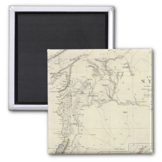Ancient Syria to Sinai 2 Inch Square Magnet