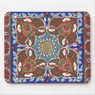 Ancient Tadjik Design Mouse Pad