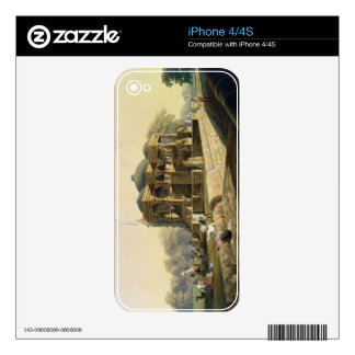 Ancient Temple at Hulwud, from Volume I of 'Scener Decals For iPhone 4S