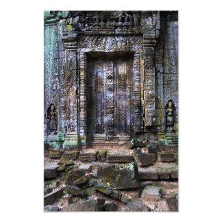 Ancient Temple Blind Door Photographic Print
