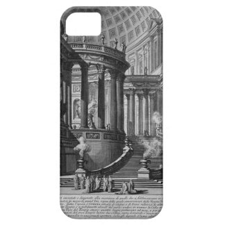 Ancient temple invented and designed in the manner iPhone SE/5/5s case