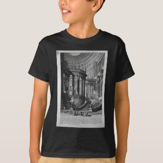 Ancient temple invented and designed in the manner T-Shirt