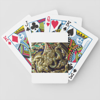 ANCIENT THAILAND METALLIC MURAL BICYCLE POKER CARDS