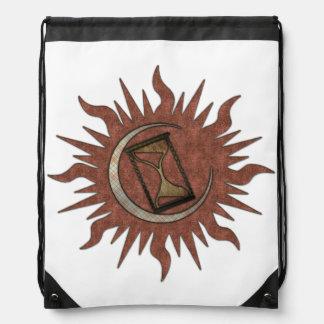 Ancient Time Keeping Drawstring Backpack