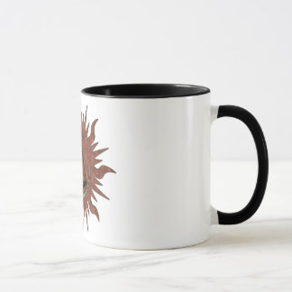 Ancient Time Keeping Two-Tone Mug