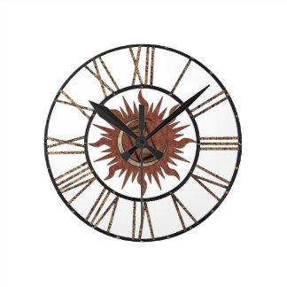 Ancient Time Keeping Wall Clock