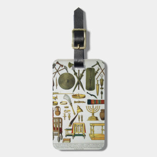 Ancient Times Luggage Tag