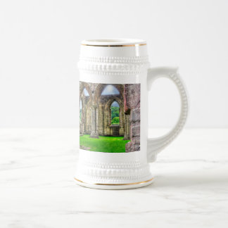 Ancient Tintern Abbey 7 Cistercian Monastery Wales 18 Oz Beer Stein