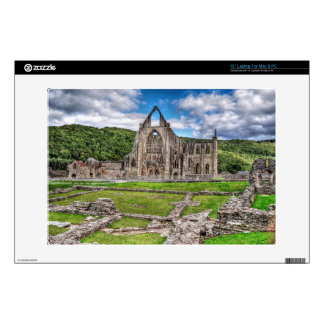 Ancient Tintern Abbey Cistercian Monastery, Wales Laptop Skin